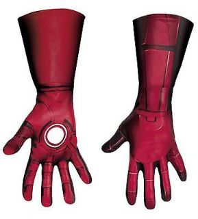 The Avengers Iron Man Mark VII Deluxe Gloves (Adult)