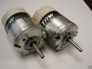 TRW HIGH SPEED DC MOTOR 405A223 12VDC 7000RPM (2ea.)
