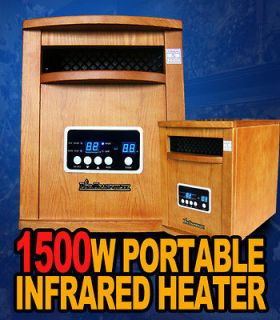 Diva Tranquility Portable Quartz Infrared Space Heater 1500 Watts