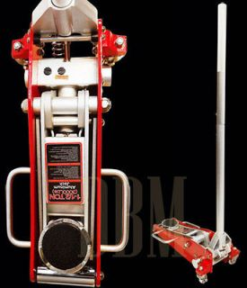 Ton Aluminum Low Profile Floor Jack Lift Garage Car Truck Auto