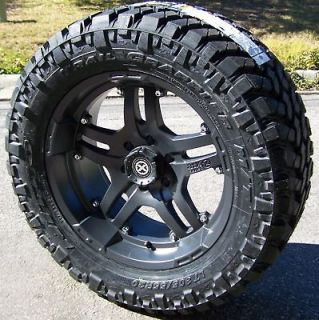 ATX ARTILLERY WHEELS & NITTO TRAIL GRAPPLER JEEP WRANGLER JK RUBICON