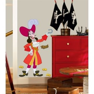 Jake & the Neverland Pirates Captain Hook Peel & Stick Giant Removable