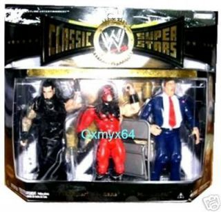 WWE Jakks Pacific Classic SuperStars Undertaker Kane Paul Bearer 3