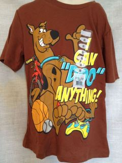 SCOOBY DOO KIDS TSHIRT ASSORTED SIZES BRAND NEW WITH TAGS