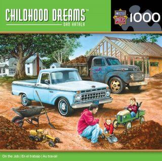 CHILDHOOD DREAMS JIGSAW PUZZLE ON THE JOB DAN HATALA