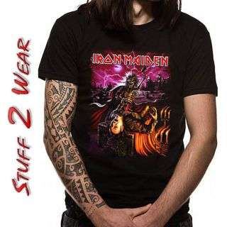 iron maiden event shirt in Clothing,