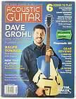 ACOUSTIC GUITAR MAGAZINE DAVE GROHL FOO FIGHTERS RALPH TOWNER LOVIN