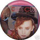 100) Culture Club Buttons Pins Badges Retro Vintage 1980s 80s Boy