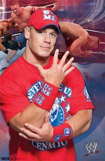 John Cena U CANT SEE ME Wrestling WWE 5 Knuckle Shuffle Poster