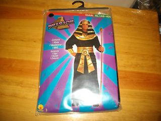 HALLOWEEN COSTUME NEW MANS XL (40 42) PHARAOH
