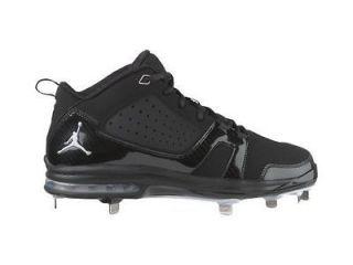 Nike Jordan Jeter Cut Metal Mens Baseball Black Cleats various size