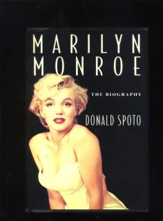 Marilyn Monroe The Biography Donald Spoto 1993 1st Edition HB/DJ