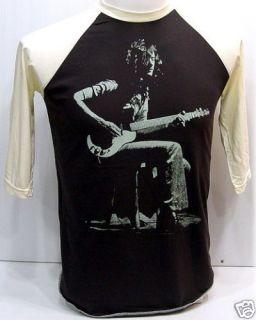 Jimmy Page Guitarist LED ZEPPELIN Vintage 3/4 T Shirt S