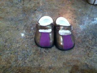 American Girl Doll Marisol Luna Meet Outfit Shoes ONLY