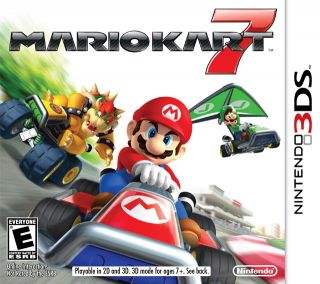 MARIO KART 7 3D NINTENDO 3DS GAME 2011 (US VERSION NTSC)