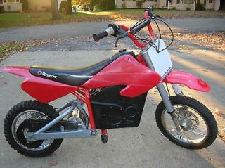 RAZOR MX500 Dirt Rocket Electric Mini Bike Excellent Working Condition