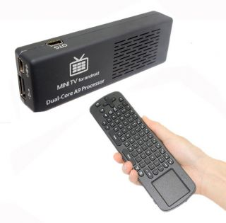 Andriod 4.1 MK808 Dual Core Rk3066 A9 8G Mini PC WiFi TV IPTV Box+RC12