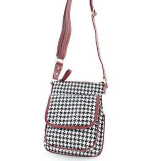 houndstooth purse in Handbags & Purses