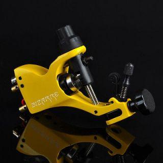 New Rotary Tattoo Machine Gun Stigma V2 Style Allen Key Kit Yellow