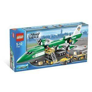 Lego 7734 City Cargo Plane Special Edition, 463 Pieces