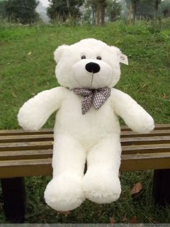 HOT 39.5 Giant Big plush teddy bear White 100CM Gift