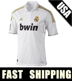 KAKA # 8 REAL MADRID JERSEY SOCCER JERSEY SHIRT HOME ALL SIZES S M L