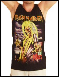 Iron Maiden Killers Tank Top T Shirt T Shirts Size XL