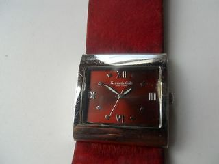 kenneth cole watch band leather