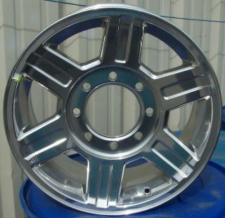 OEM 17 17X8 Polished Alloy Wheel Rim for 2010 2011 2012 Dodge Ram