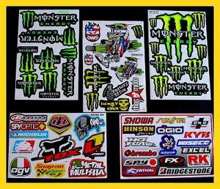 Stickers scooter boys TOP QUAD MOTO BIKE BMX motocross energy 3Ga DIRT