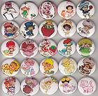 Shortcake Buttons/Pinbacks/Badges/80s/Cartoon/Cute/Kids/Girlie