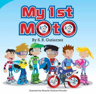 dirt bike story for kids my 1st moto children book motocross dirt bike