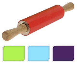 Stick Silicone Rolling Pin For Baking Pastry Roller Kitchen Utensil