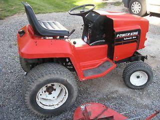Power King Garden Tractor with Mower Deck Kohler 16hp K341