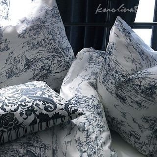 Ikea Emmie Land Queen Duvet Cover Toile de Jouy 18th century French