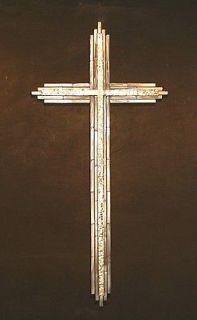 Metal Cross Wall Art