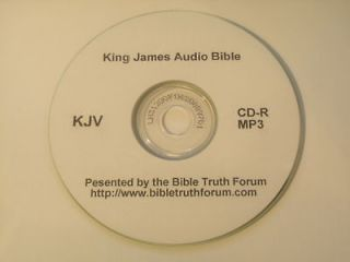 The Holy Bible King James Version Audio Bible KJV The Old and New