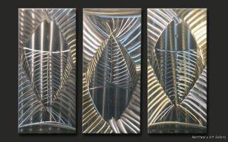 Metal Wall Art Modern Abstract Contemporary Handmade Sculpture Home