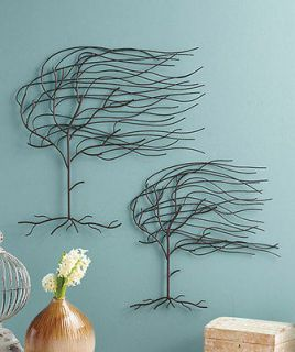 Whispering Willow Wall Hangings Small & Large Metal Trees Wall Art