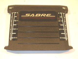 1742 Sabre Lawn tractor Mower deck lift height cover panel M123259