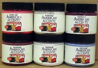 OLEUM / American Accents   2 OZ. ACRYLIC LATEX PAINT   CRAFT & HOBBY