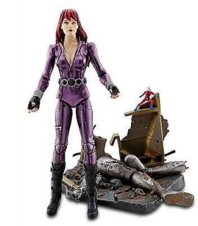 MARVEL SELECT CLASSIC BLACK WIDOW ACTION FIGURE DISNEY EXCLUSIVE ANT