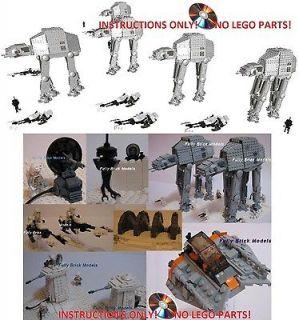 Instructions Custom Hoth Rebel Base 8089 Star Wars Lego