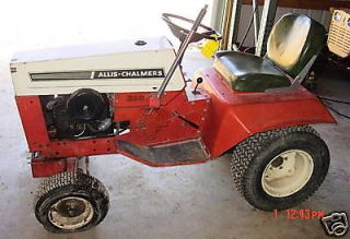 Allis Chalmers garden tractor in Home & Garden