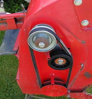 POWERED GRASS COLLECTOR SWEEPER SIDE DRIVE BELT Countax Westwood