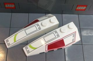 LEGO STAR WARS Wedge 2 x 6 Double L&R with AT TE Pattern (#s 41747
