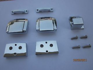 NEW* Chromed Tour Pack Tour Pak Latches for Harley Davidson Touring