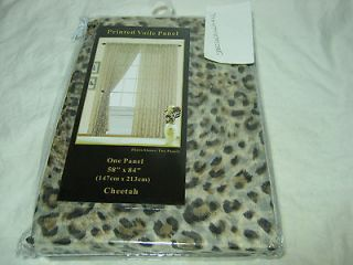cheetah curtains in Curtains, Drapes & Valances