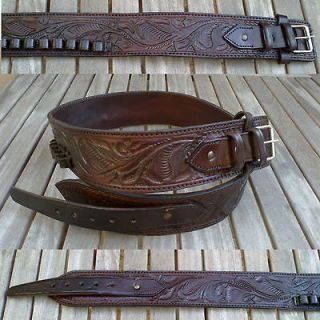 leather ammo belt in Holsters & Pouches
