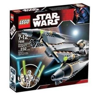 LEGO LEGOS STAR WARS GENERAL GRIEVOUS STARFIGHTER 7656